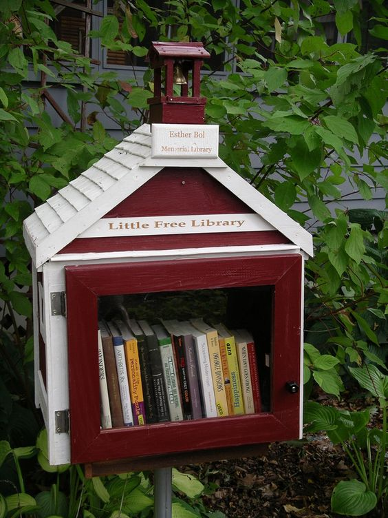 Little Free Library, Worldwide Effort to Build Tiny Community Libraries. can we have one on every corner, please?
