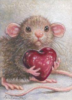 Art by Lynn Bonnette: My Valentine Heart: