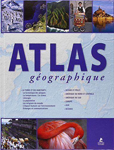 Cartographie du monde avec des données physiques, politiques et sociales sur chaque région du monde. Chaque continent est présenté, avec un texte descriptif et informatif sur la région, suivi d'une vaste cartographie.