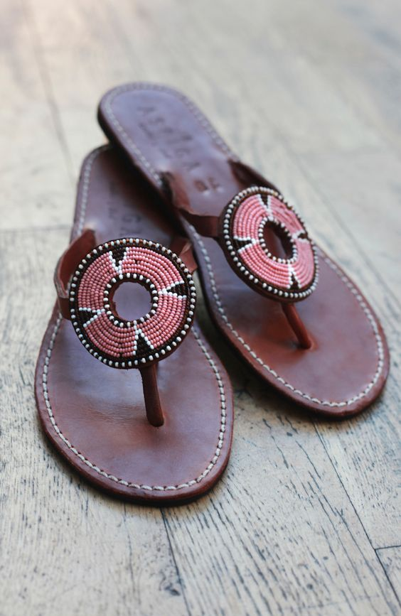 Fashionable Summer Colorful Sandals