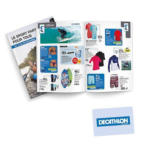 Declinaison De Charte Pour Le Catalogue Depliant Graphique Decathlon