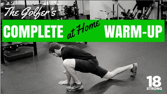 "Congratulations and Thank You for becoming a part of 18Strong. Below, you will find your follow-along video, ""The Golfer's Complete At-Home Warm-Up"", created by Jeff to help warm up your body before your next round so that you hit the first tee loose and ready to rock. Be sure to bookmark this page so you'll …"