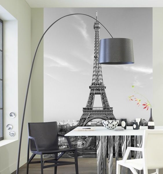 Decoraci n fotomural wizard genius la torre eiffel 386 for Decoracion de interiores paris