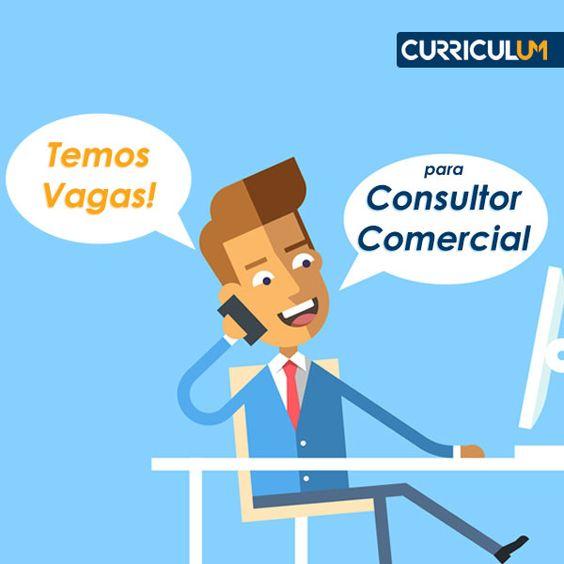 Vagas de emprego para consultores comerciais: candidate-se AQUI!