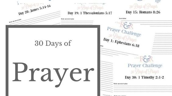 Has Prayer been a challenge for you? If it is a struggle in your christian walk- then come join our prayer challenge!