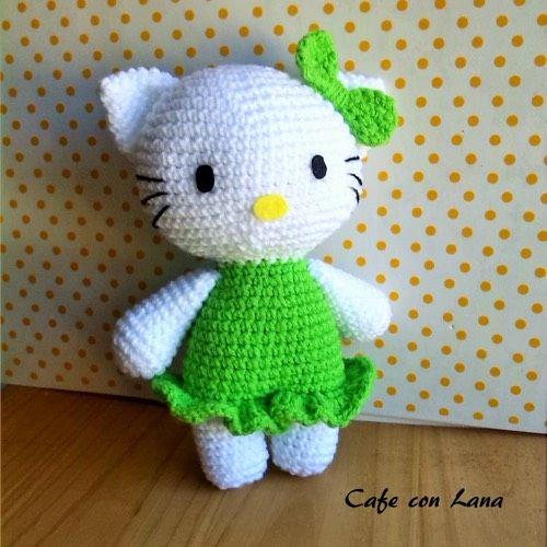 Hello Kitty Kimono Amigurumi Patron : Patrones, Amigurumi and Hello kitty on Pinterest