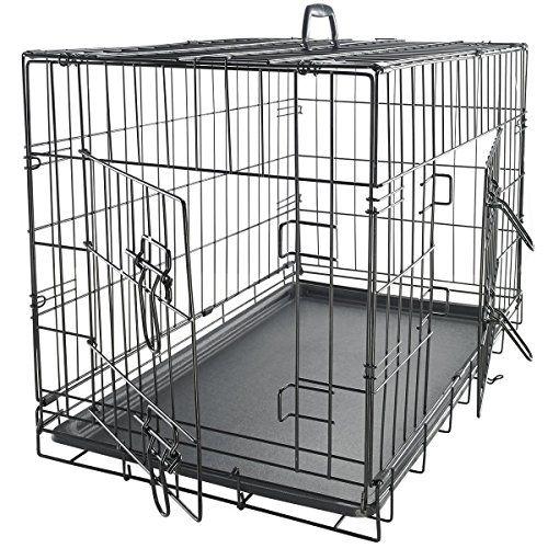 Amazon Paws Pals 48 Xxl Dog Crate Double Door Folding Metal Https Www Amazon Com Dp B00igep52k Ref Cm S Wire Dog Crates Large Dog Crate Xxl Dog Crate