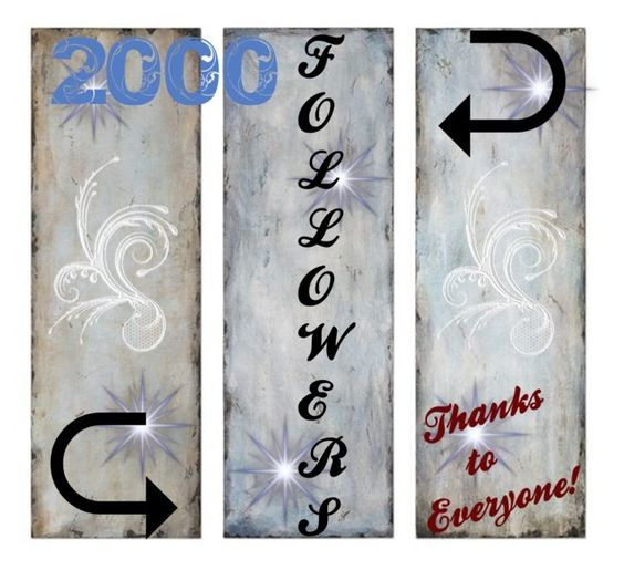 """2000 + Followers"" by smith-1979 ❤ liked on Polyvore featuring art"