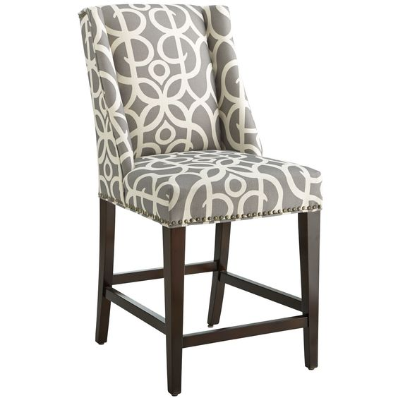 owen counterstool metro pewter pier 1 imports bar stools counter pier 1