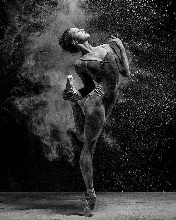"""To dancer Olga Kuraeva ballet is """"neither a philosophy nor a job"""" but a means of expressing emotion."""