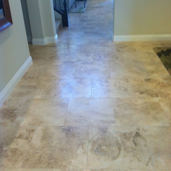 Love These Travertine Floors No Place Like Home