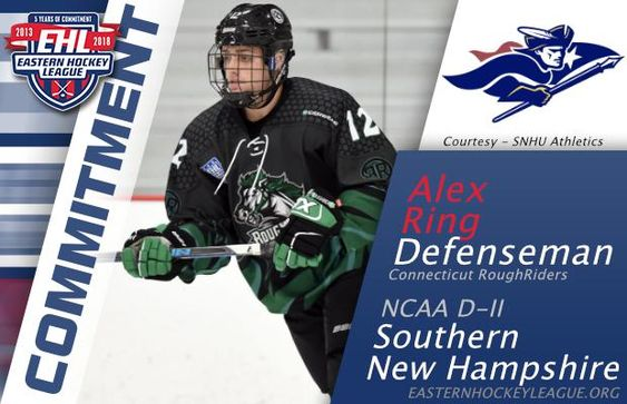 Ring Commits To Southern New Hampshire College Hockey New Hampshire Commitment