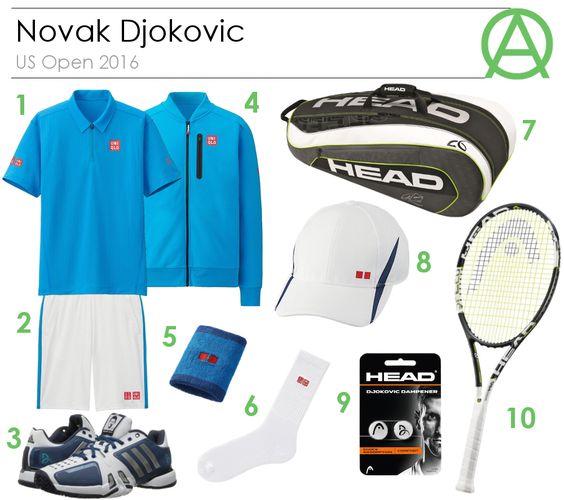 Novak Djokovic US Open 2016 Outfit
