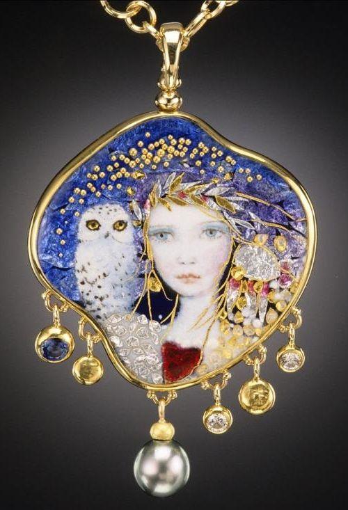 Enamel Jewelry Artists | Handcrafted Enamel by Jewelry Artists Mona & Alex Szabados: