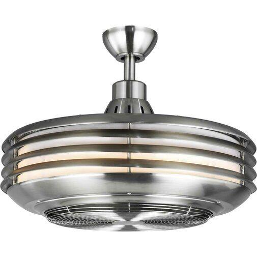 22 875 Maldanado Enclosed Outdoor Led Ceiling Fan With Remote