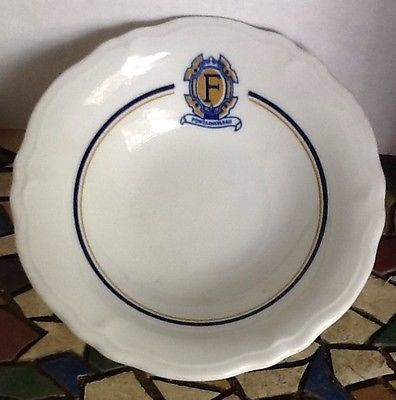 Famed Fontainebleau Motor Hotel New Orleans Side Dish Cup Shenango 1967 USA Made Restaurant Ware Sold $14.89