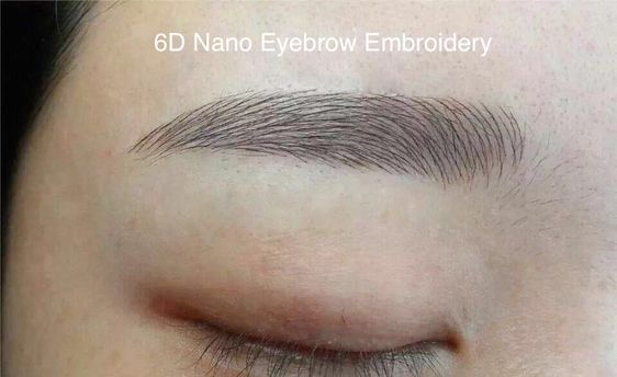 What Are The Types Of Eyebrow Embroidery In Singapore Eyebrow Embroidery Types Of Eyebrows Eyebrows
