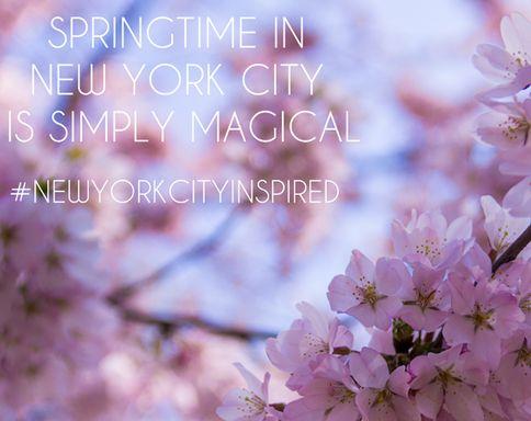 Photo: Springtime magic in NYC #NewYorkCityInspired