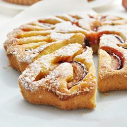 Quick cake with plums. Moist and buttery. (in Polish)