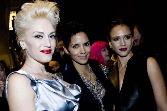 Gwen Stefani, Halle Berry and Jessica Alba, 2010.
