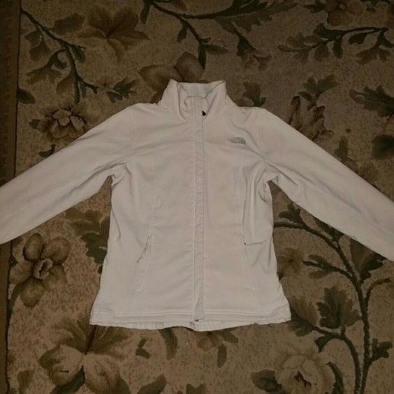 Northface chromium thermal jacket Cream/off white color. Originally $160 plus tax and shipping. Size small fits true to size the inside Is all fur. I absolutely love it I just have to many northface jackets. I've gotten so many complaints on this jacket. I will on trade for victorias secret, rock revival jeans, or miss mes. The North Face Jackets & Coats