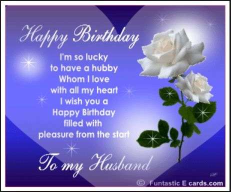Husband Happy Birthday Quotes Happy Birthday Quotes – Happy Birthday Husband Card