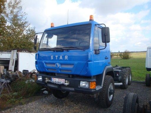 Star 266 M 6x6 Man Pod Zabudowe Hds Palfinger Hiab 7438052679 Oficjalne Archiwum Allegro Stars Expedition Vehicle Trucks