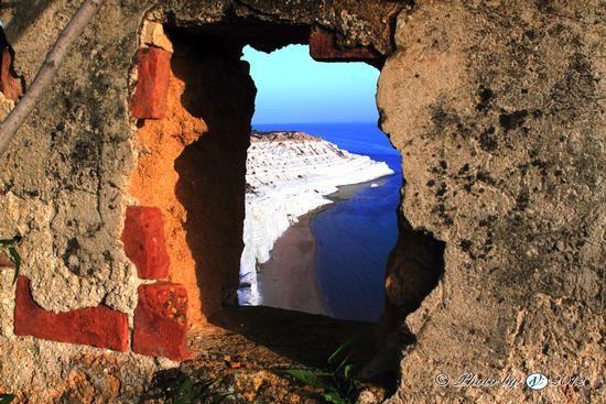 Dei idee Scala : Vista sul mare da un rudere a Realmonte - SCALA DEI TURCHI - inserita ...