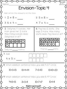 Envision Math Grade 4 Worksheets & math 2 grade worksheets free ...