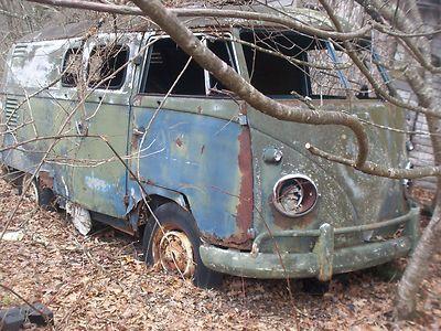 Blue Junker Volkswagen