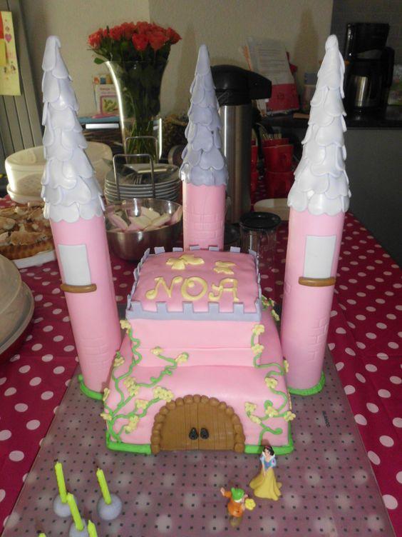 Princessen kasteel met sneeuwitje