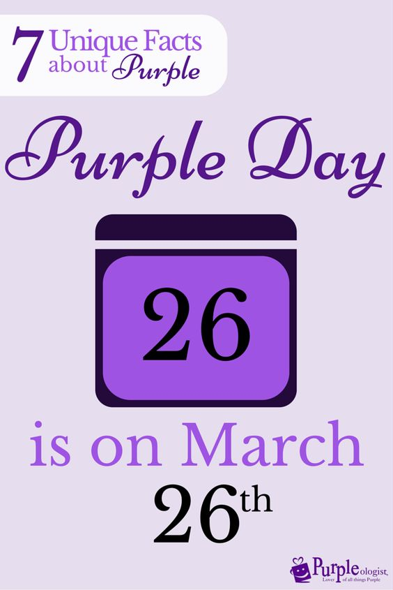 7 unique facts about purple on my birthday epilepsy awareness and meant to be. Black Bedroom Furniture Sets. Home Design Ideas