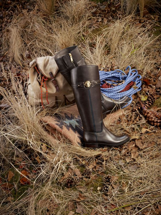 With these Tommy Hilfiger's leather boots you'll be prepped for any journey, whether you're trekking to the shops or hiking to the mountain tops