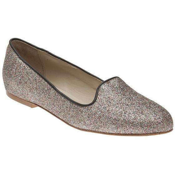 Anniel Glitter loafer