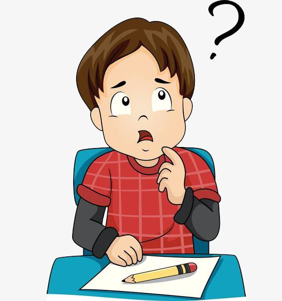 A Thinking Boy Png And Clipart Clipart Boy Art Drawings For