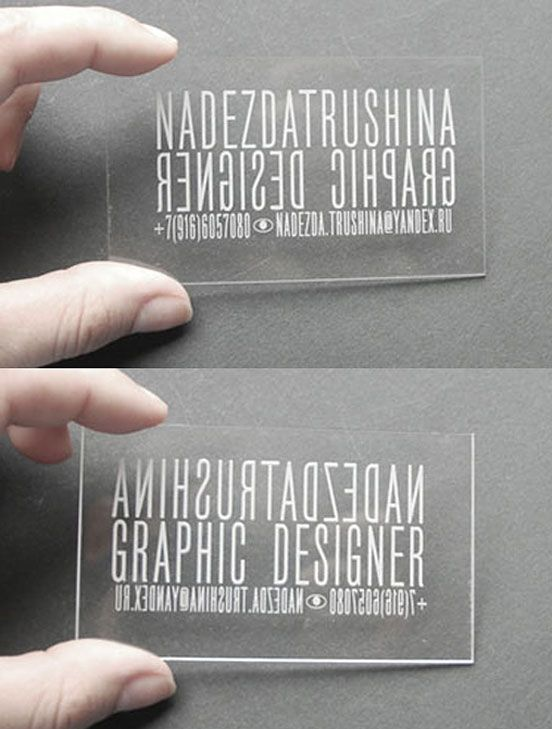 Transparent plastic laser cut business card pinterest transparent plastic laser cut business card pinterest laser cutting business cards and business colourmoves