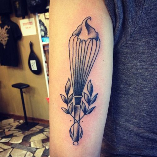 Whisk Baker's Tattoo