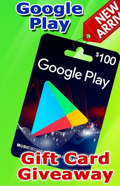 Free Google Play Gift Card 2020 Google Play Gift Card Is A Card