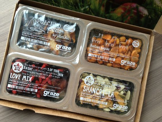 Graze Snack Box Review - February 2013 - Monthly Healthy Snack Subscription Service