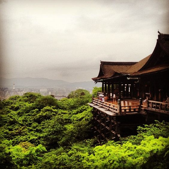 """""""City of Kyoto as seen from Kiyomizu-dera"""" by shayne is using Instagram - a fun & quirky way to share your life with friends through a series of pictures. Snap a photo, then choose a filter to transform the look and feel of the shot into a memory to keep around forever."""