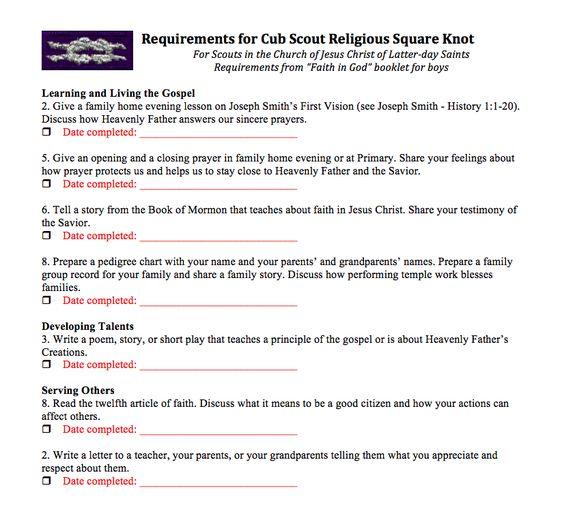 Cub Scout Belt Loop Requirements Worksheets Photos – Cub Scout Belt Loops Worksheets