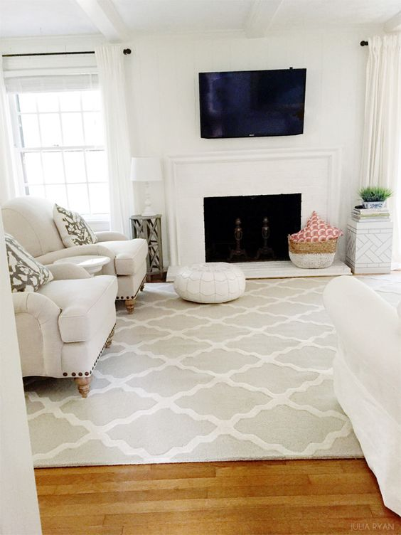 Featuring Rugs USA's Homespun Moroccan Trellis Rug!