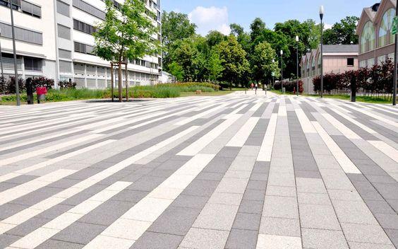 Popular Town Hall Square Solingen by scape Landschaftsarchitekten D sseldorf Germany Landscape Architecture u Design Projects Pinterest Square
