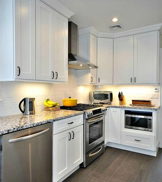 Replacing Kitchen Cabinets On A Budget: Aspen White Shaker Kitchen Cabinets Cheap Kitchen Cabinets