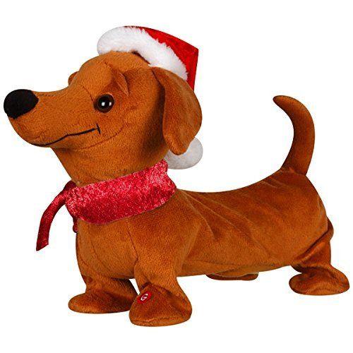 Gemmy Singing And Dancing Animated Christmas Santa Wiener Dog Dachshund Quot Treasure Dachshund Christmas Animated Christmas Outdoor Christmas Decorations