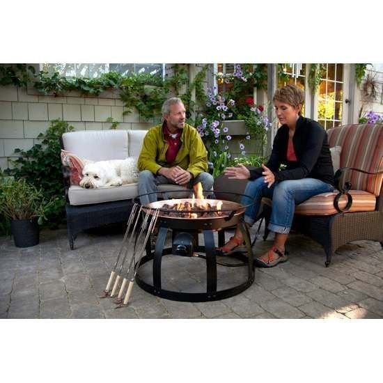 Camp Chef Santa Fe Propane Fire Pit - There's nothing better than an on-demand fire pit. You can have fire instantly when you want it and then shut it right off when you're done. The Camp Chef Santa Fe brings all the convenience of an on-demand fire pit to your backyard or patio plus a couple of new features. The Santa Fe features a steel table top. Now when you're done with your fire, place the steel table top on top of the fire pit and it converts into a convenient patio table. There's no…