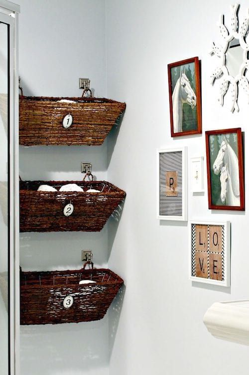 bains rangement mural salle de bain