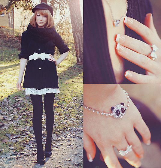 Panda in the music. (by Erika Henell) http://lookbook.nu/look/2696299-Panda-in-the-music