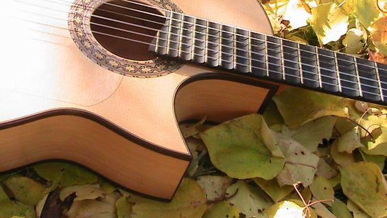 Guitarras custom construídas por Rodolfo Cucculelli, Luthier: Elektroakustik Flamenko Fusion Gitarı.
