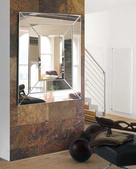 Espejos Modernos De Cristal Escala Decoraci 243 N Beltr 225 N Tu